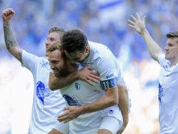 Türpitz und Hammann schießen Magdeburg in Liga zwei