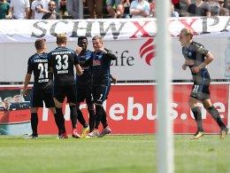 Paderborn verabschiedet sich standesgemäß in die 2. Liga