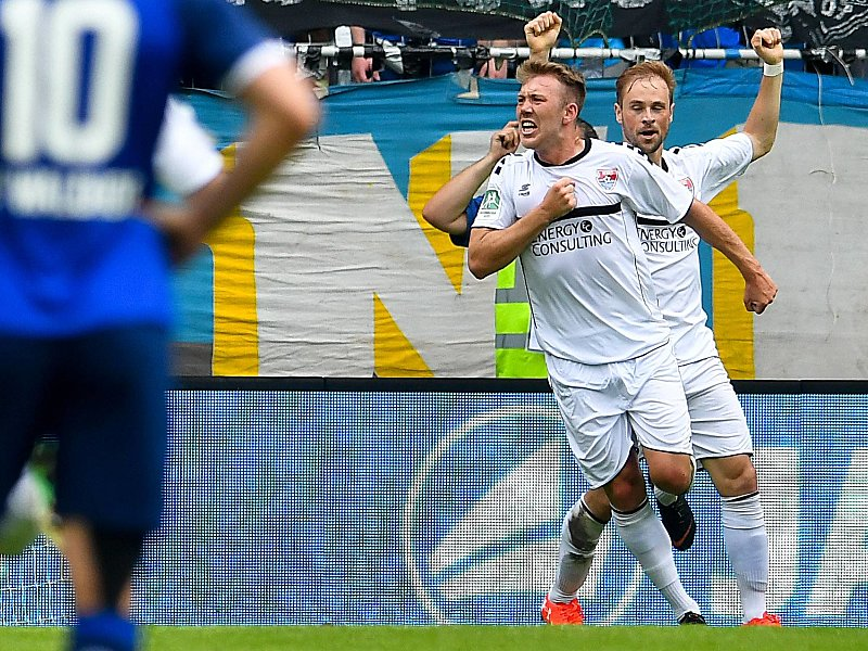 Waldhof Mannheim - KFC Uerdingen 05 1:2, Aufstiegsspiele ...