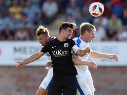 Torloses Montagsspiel zwischen Lotte und Meppen