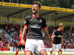 Spalvis sichert Kaiserslautern ein Unentschieden