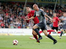 Morys rettet Aalen einen Punkt im Derby