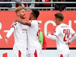 Dank Fetsch: Halle bezwingt Würzburger Kickers