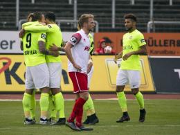 7:0 - Schäffler trifft für Wiesbaden vierfach