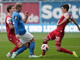 Erst Bülow, dann Biankadi: Rostock beißt sich oben fest
