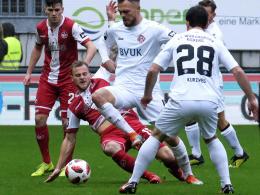 0:0 beim Hildmann-Debüt: FCK ohne Glück