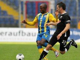 Dominick Kumbela gegen Jan-Andre Sievers