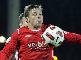 Sein Tor in der Nachspielzeit brachte Babelsberg den Sieg: Guido Kocer.