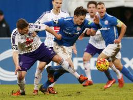 Garbuschewski trifft Alu - Keine Tore in Rostock