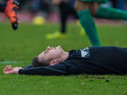Werder rettet Kaziors Lucky Punch �ber die Zeit