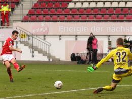 Julian Derstroff vollstreckt zur 2:1-Führung für Mainz 05 II.