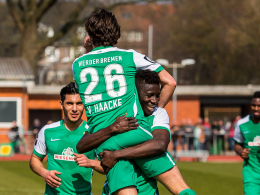 Werder vergr��ert Halles Sorgen