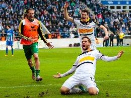 Dynamo ist durch! Eilers erl�st Dresden
