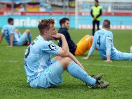 Drama nach Abpfiff: Kickers steigen ab