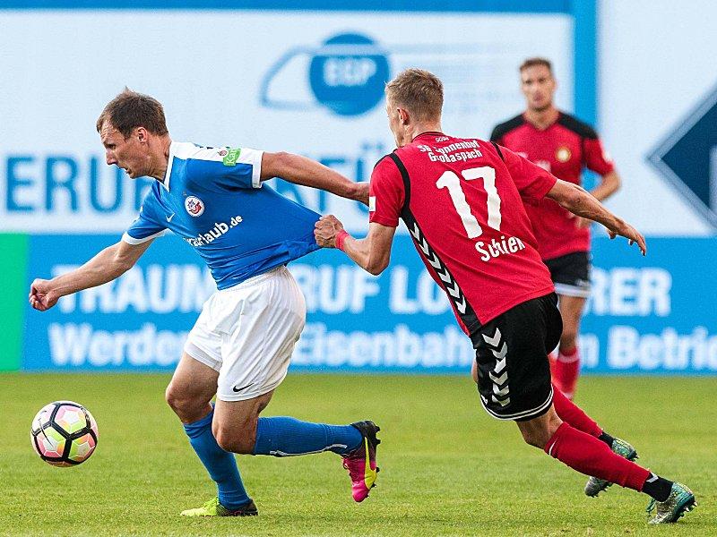 Hansa Rostock - SG Sonnenhof Großaspach 0:0, 3. Liga ...