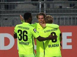 Doppelter Müller sichert Wehen Wiesbaden drei Punkte