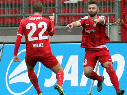 Wieder 1:0: Menz sichert Erfurts Heimsieg