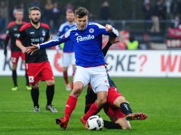 0:0 - Kiel und Erfurt trennen sich torlos