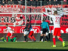 Matchwinner Pintol: Halle bleibt am Spitzentrio dran