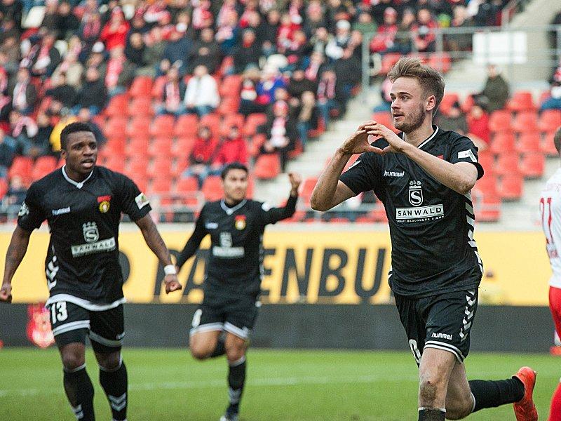 Hallescher FC - SG Sonnenhof Großaspach 0:1, 3. Liga ...