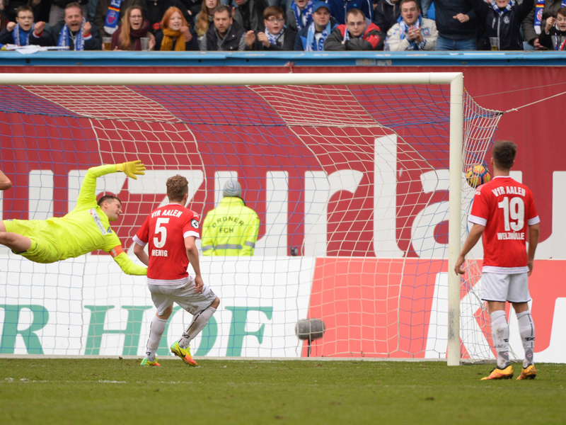 Hansa Rostock - VfR Aalen 1:1, 3. Liga, Saison 2016/17, 25 ...
