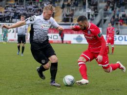 2:0 gegen den FSV: Dritter Sieg in Folge für Aalen