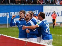 Andrist sorgt für Rostocks Punktgewinn