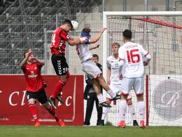 Mainz verliert nach frühem Fehlschuss in Großaspach