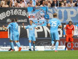 Chemnitz stellt Weichen früh auf Sieg