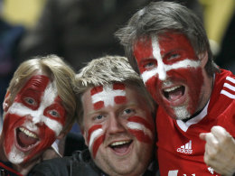Fans der dänischen Nationalmannschaft