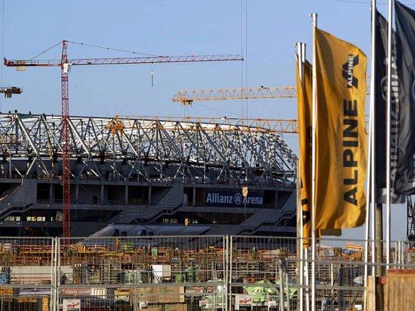 """""""Alpine"""" errichtete auch die Allianz Arena in München"""