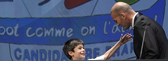 Botschafter Frankreichs in Genf: Zinedine Zidane.