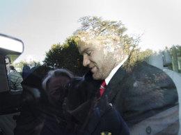 Wayne Rooney am Donnerstag nach der Berufungsverhandlung in Nyon