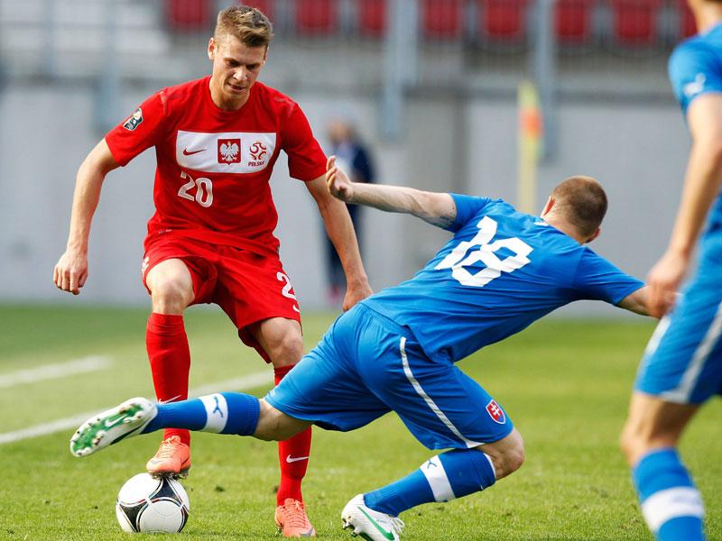Lukasz Piszczek gegen Erik Jendrisek