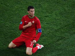 Hand aufs Herz: Cristiano Ronaldo will auch heute wieder seinem Status gerecht werden.