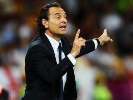 Bleibt bis zur WM 2014: Italiens Nationaltrainer Cesare Prandelli.