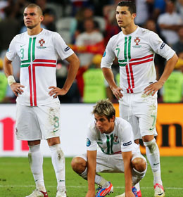 Pepe, Cristiano Ronaldo, Fabio Coentrao