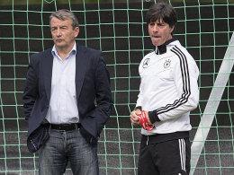 Wolfgang Niersbach und Joachim Löw