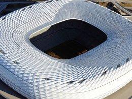 WM-Spielort 2006, auch 2020 Schauplatz bei einem großen Turnier? Die Allianz-Arena in München.