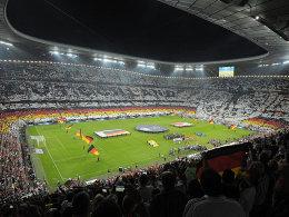 Münchner Arena während des Länderspiels gegen Österreich