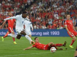 Arsenal-Neuzugang Danny Welbeck netzte für England in der Schweiz zweimal ein.