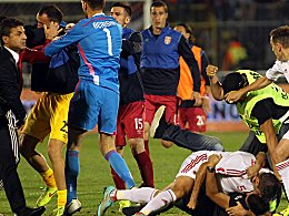 Serbien gegen Albanien