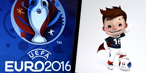 Sein Name wird noch gesucht: Das Maskottchen der EURO 2016 in Frankreich.