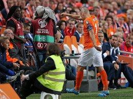 Oranje verliert nicht nur Robben - Minimales Italien