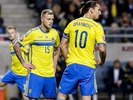 EM-Play-offs: Schweden gegen D�nen!