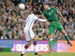 Vor Abflug nach Bosnien: Iren hoffen auf Murphy