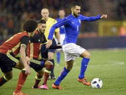 Traumtor ebnet Spaniens Weg - Belgien bezwingt Italien