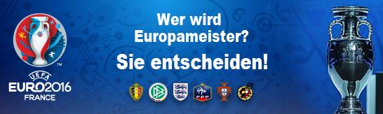 Der Turnierrechner zur Europameisterschaft 2016 in Frankreich