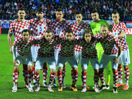 Das Nationalteam Kroatiens