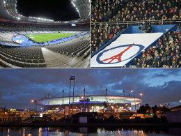 Das Stade de France - Schauplatz des EM-Endspiels 2016